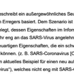 Bundestag 2012 Drucksache Pandemie Seuchenbeschreibung