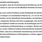 Bundestag 2012 Drucksache Pandemie seuchenbeschreibung 16